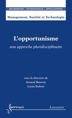 Couverture de l'ouvrage L'opportunisme