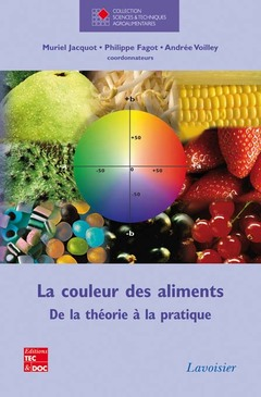 Couverture de l'ouvrage La couleur des aliments