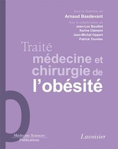 Couverture de l'ouvrage Traité médecine et chirurgie de l'obésité