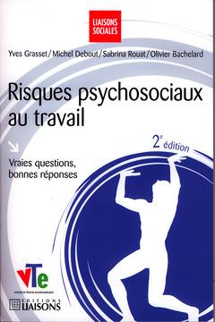 Couverture de l'ouvrage Risques psychosociaux au travail
