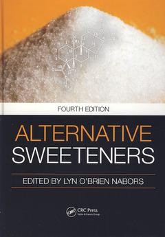 Couverture de l'ouvrage Alternative sweeteners