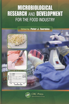 Couverture de l'ouvrage Microbiological research and development for the food industry