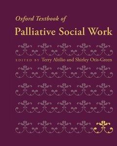 Couverture de l'ouvrage Oxford textbook of palliative social work