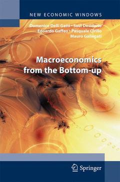 Couverture de l'ouvrage Macroeconomics from the Bottom-up