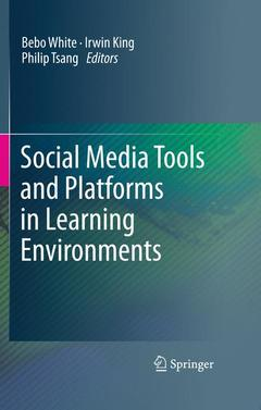 Cover of the book Social media tools and platforms in learning environments
