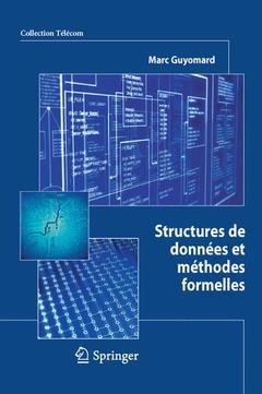 Couverture de l'ouvrage Structures de données et méthodes formelles