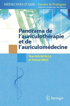 Couverture de l'ouvrage Panorama de l'auriculothérapie et de l'auriculomédecine