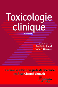 Couverture de l'ouvrage Toxicologie clinique