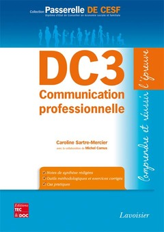 Cover of the book DC3 Communication professionnelle