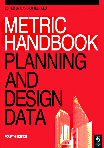 Couverture de l'ouvrage Metric handbook