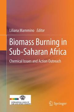 Couverture de l'ouvrage Chemical issues in biomass burning in sub-saharan africa