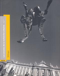 Couverture de l'ouvrage Annales de la recherche urbaine N° 106 : Mélanges