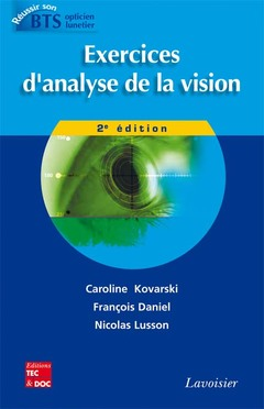 Cover of the book Exercices d'analyse de la vision