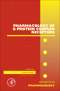 Couverture de l'ouvrage Pharmacology of G Protein Coupled Receptors