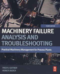 Cover of the book Machinery Failure Analysis and Troubleshooting