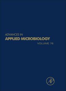 Couverture de l'ouvrage Advances in Applied Microbiology