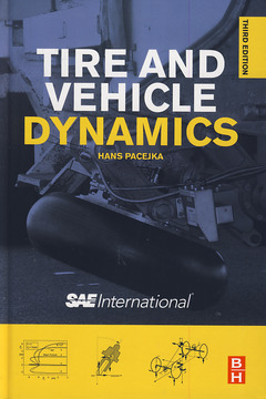 Couverture de l'ouvrage Tire and vehicle dynamics (3rd Ed.)