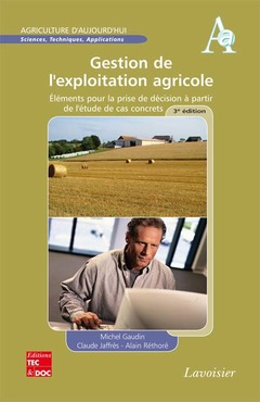 Couverture de l'ouvrage Gestion de l'exploitation agricole