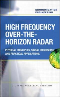 Couverture de l'ouvrage High frequency over the horizon radar