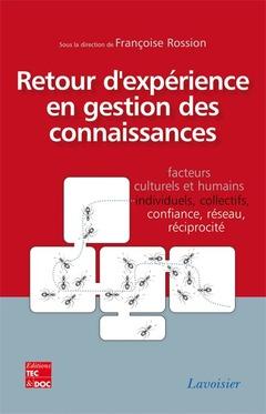 Couverture de l'ouvrage Retour d'expérience en gestion des connaissances