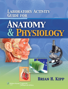 Couverture de l'ouvrage Laboratory Activity Guide for Anatomy & Physiology