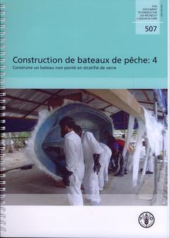 Couverture de l'ouvrage Construction de bateaux de pêche 4