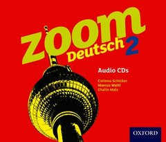 Couverture de l'ouvrage Zoom deutsch 2 audio cds (4 pack)