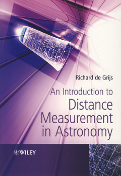 Couverture de l'ouvrage An introduction to distance measurement in astronomy (paperback)