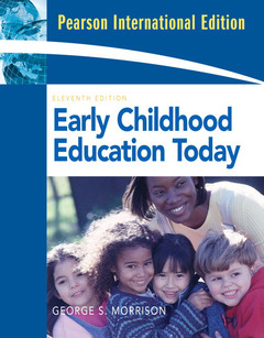 Couverture de l'ouvrage Early childhood education today (11st ed )