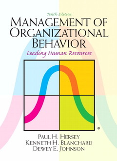 Cover of the book Management of organizational behavior (10th ed )