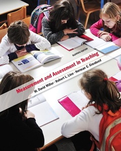 Cover of the book Measurement and assessment in teaching (11st ed )