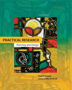 Cover of the book Practical research (10th ed )