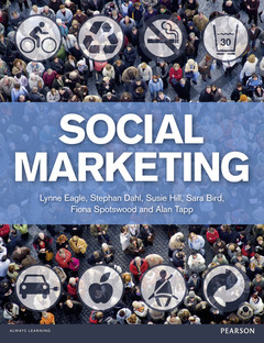 Cover of the book Social marketing (1st ed )