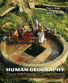 Couverture de l'ouvrage Human geography (6th ed )