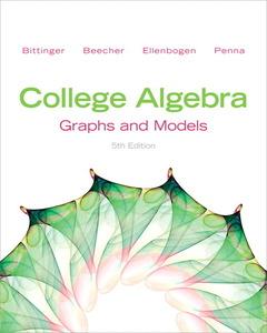 Cover of the book College algebra (5th ed )