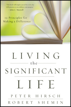Cover of the book Living the significant life (paperback)