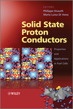 Couverture de l'ouvrage Solid state proton conductors properties and applications in fuel cells (hardback)