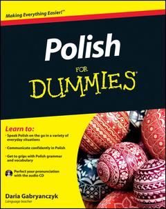 Couverture de l'ouvrage Polish for dummies (paperback)