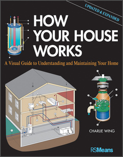 Couverture de l'ouvrage How your house works: a visual guide to understanding and maintaining your home (paperback) (series: rsmeans)