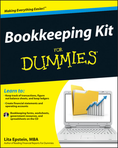 Cover of the book Bookkeeping kit for dummies® (paperback)