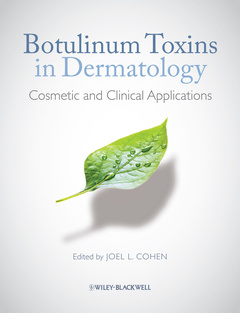 Cover of the book Botulinum toxins in dermatology
