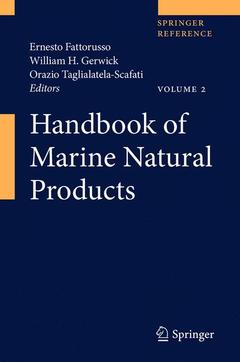 Couverture de l'ouvrage Handbook of marine natural products (Print + eReference)