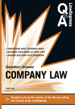 Cover of the book Law express question and answer: company law (revision guide) (1st ed )