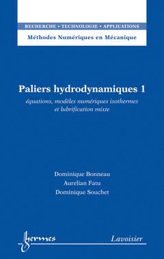 Couverture de l'ouvrage Paliers hydrodynamiques 1