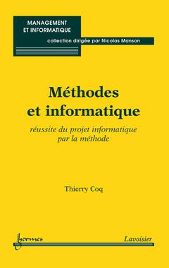 Couverture de l'ouvrage Méthodes et informatique