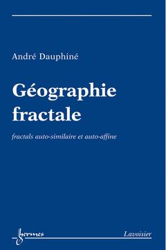 Couverture de l'ouvrage Géographie fractale