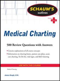 Cover of the book Schaum's outline of medical charting
