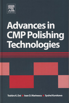 Couverture de l'ouvrage Advances in CMP polishing technologies