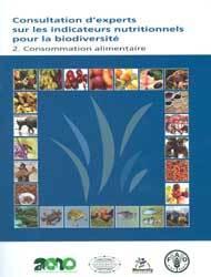Couverture de l'ouvrage Consultation d'experts sur les indicateurs nutritionnels pour la biodiversité
