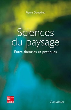 Cover of the book Sciences du paysage
